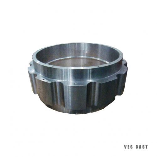 VES CAST- flange ring -Alloy Steel- Custom connection tube-design-Engineering pa...